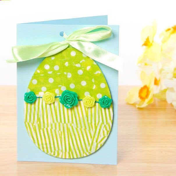 Craft Ideas For Card Making Part - 40: Easter Card U0026 Decoration