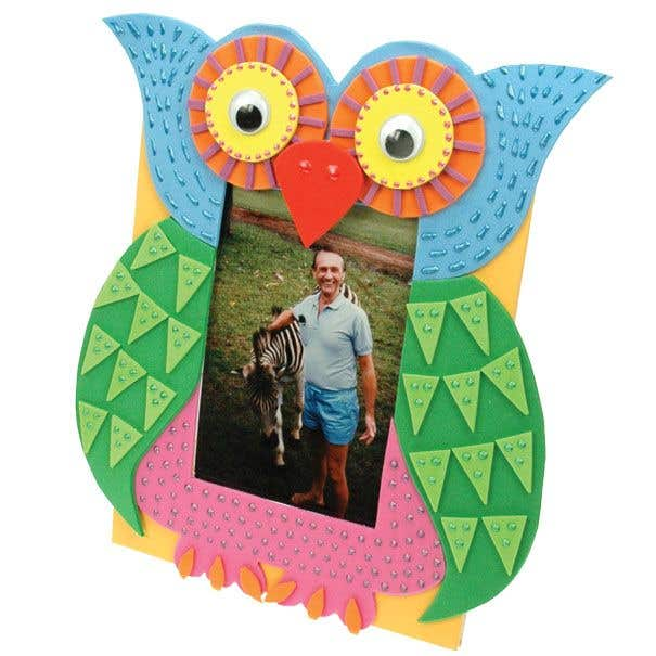 Owl Frame Free Craft Ideas Baker Ross