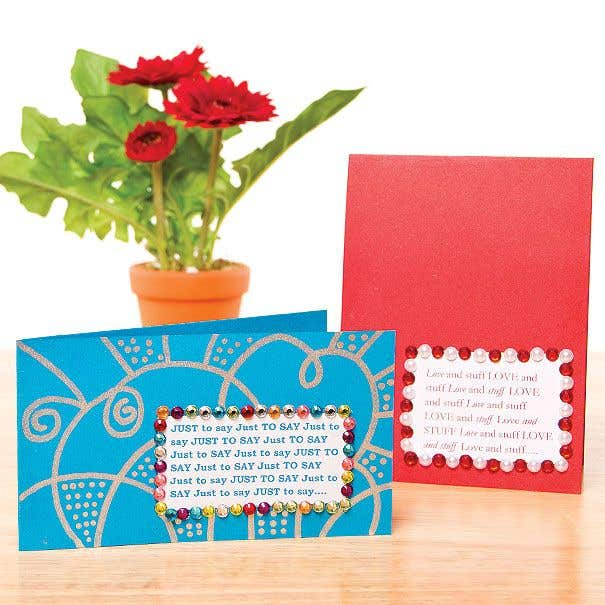 Amazing Card Making Craft Ideas Part - 9: Quick Message Cards