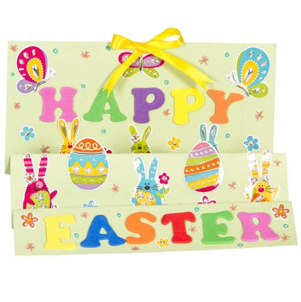 happy easter card free craft ideas baker ross