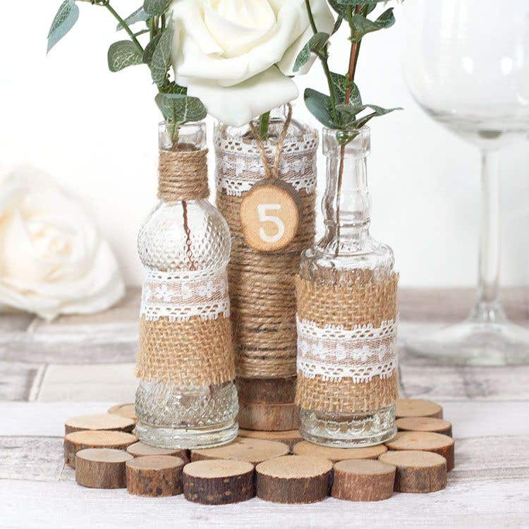 Crafts For Weddings Rustic: Rustic Centrepiece
