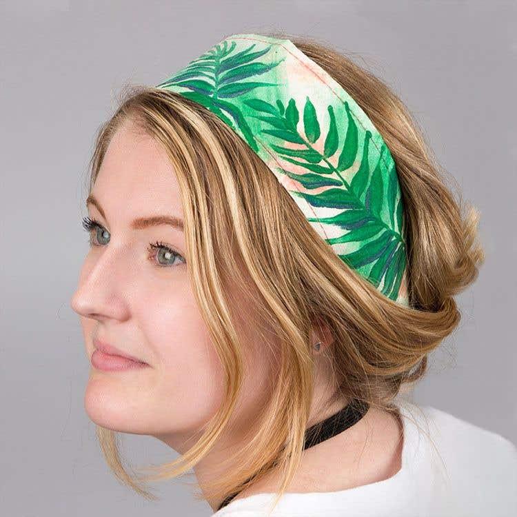 fabric headband beach wear free craft ideas baker ross