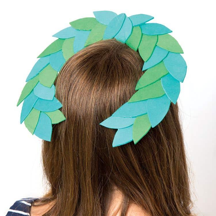Greek Headdress Free Craft Ideas Baker Ross