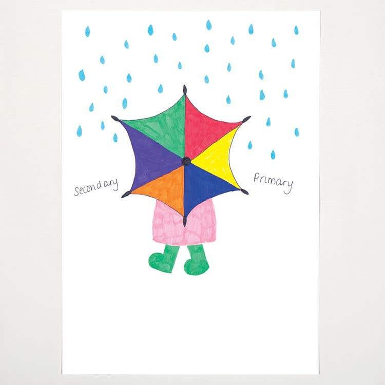 Colour Chart Umbrella Free Craft Ideas Baker Ross