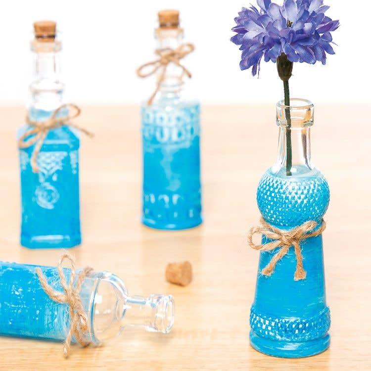 Decorative Glass Bottles Free Craft Ideas Baker Ross