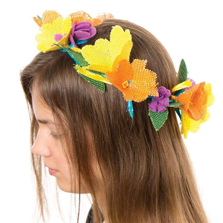 Spring Floral Crown Free Craft Ideas Baker Ross