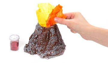 Make Your Own Volcano Free Craft Ideas Baker Ross
