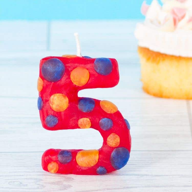 number 23 birthday candle uk