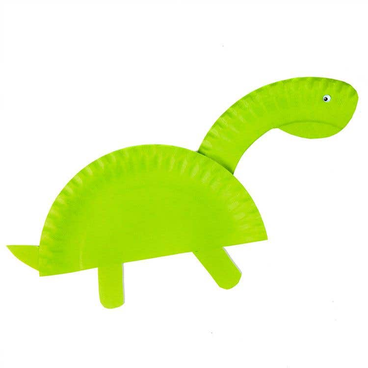 Paper Plate Dinosaur. This is a fun art project that can double up as a wall display or party decoration for any dino fans out there!  sc 1 st  Baker Ross & Paper Plate Dinosaur | Free Craft Ideas | Baker Ross