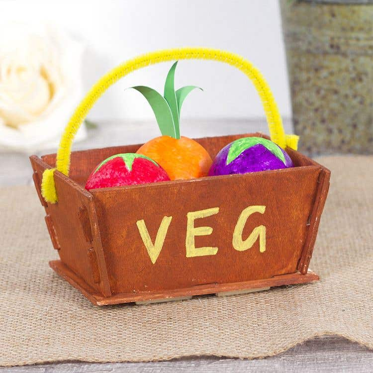 Vegetable Basket | Free Craft Ideas | Baker Ross