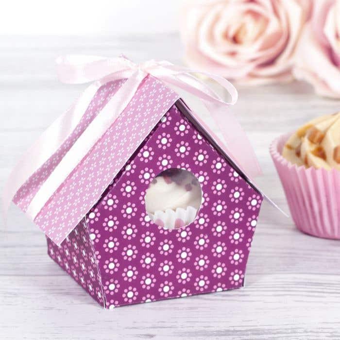 Birdhouse Cupcake Box | Free Craft Ideas | Baker Ross