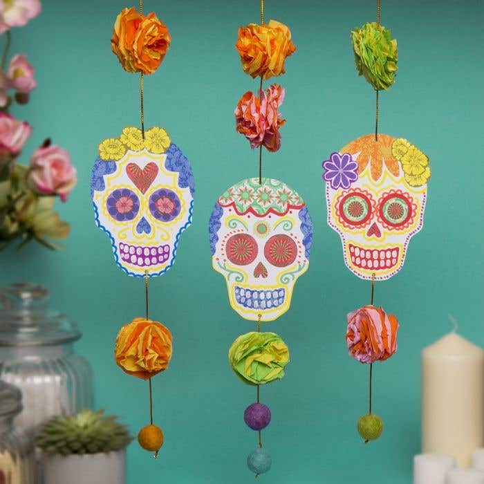 Free Grown-ups Day Of The Dead Craft Ideas