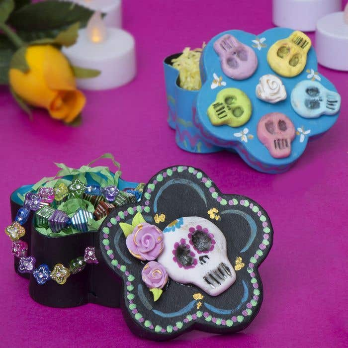 Free Grown-ups Day of the Dead Craft Ideas   Baker Ross   Creative ...