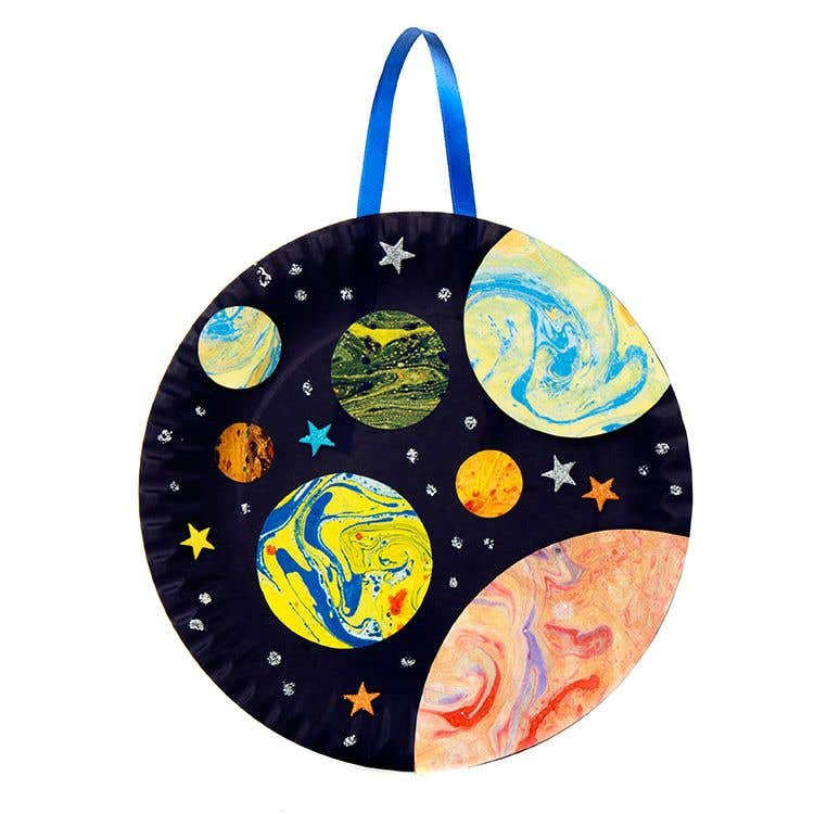 Marbled planet picture free craft ideas baker ross for Planet crafts for kids