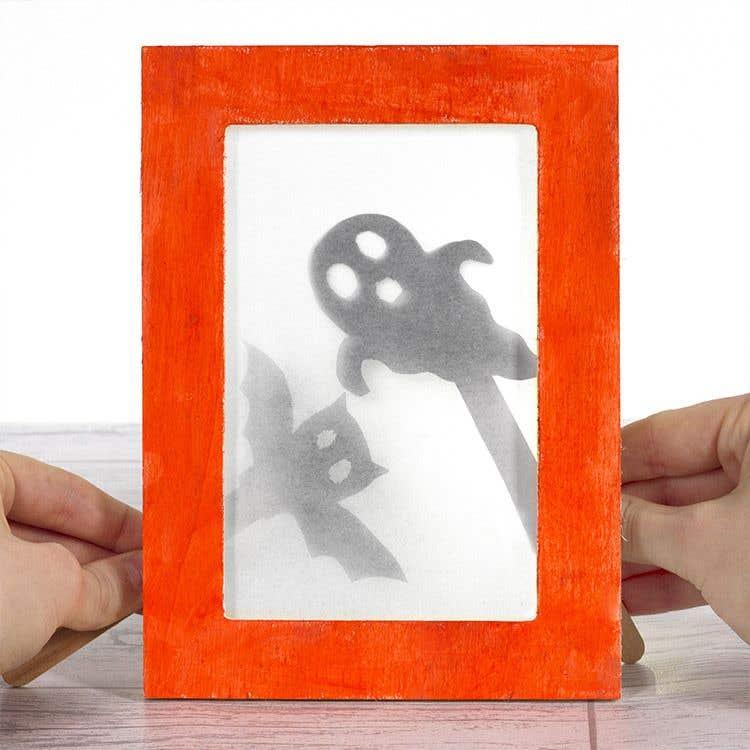 Nett Halloween Picture Frame Craft Fotos - Rahmen Ideen ...