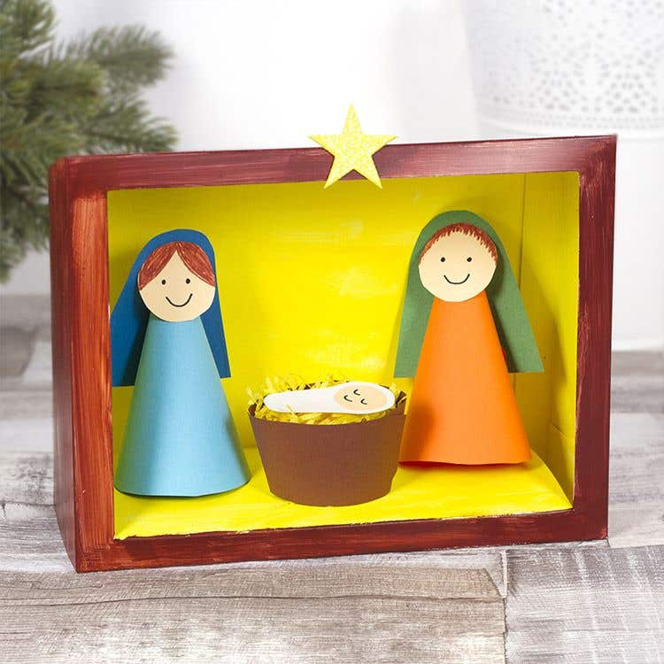Free Kids Nativity Craft Ideas