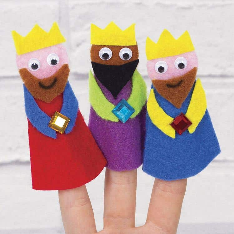 Free kids nativity craft ideas baker ross creative station for Three wise men craft