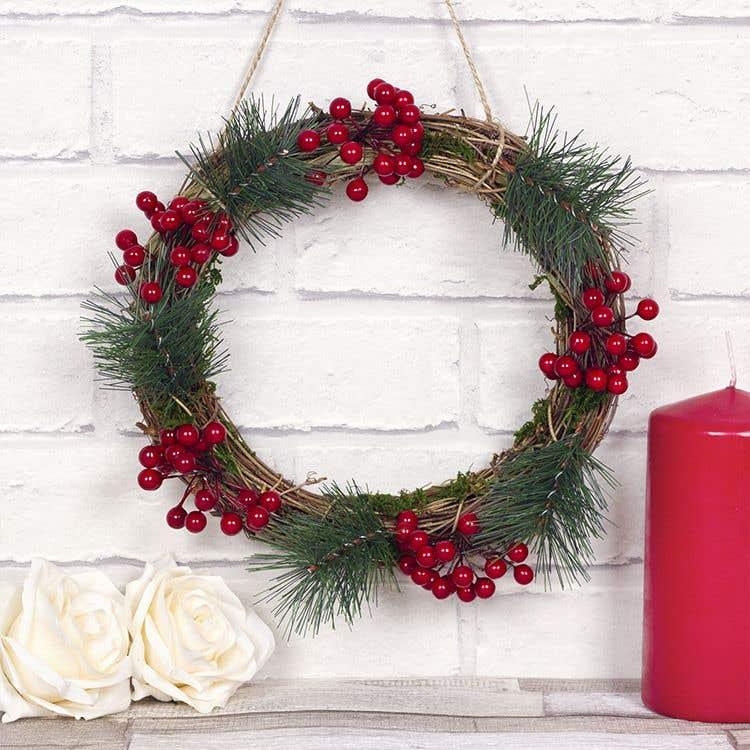 Natural Wreath Free Craft Ideas Baker Ross