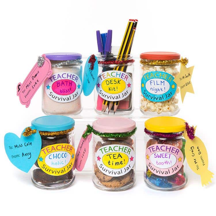 Teacher Survival Jars Free Craft Ideas Baker Ross