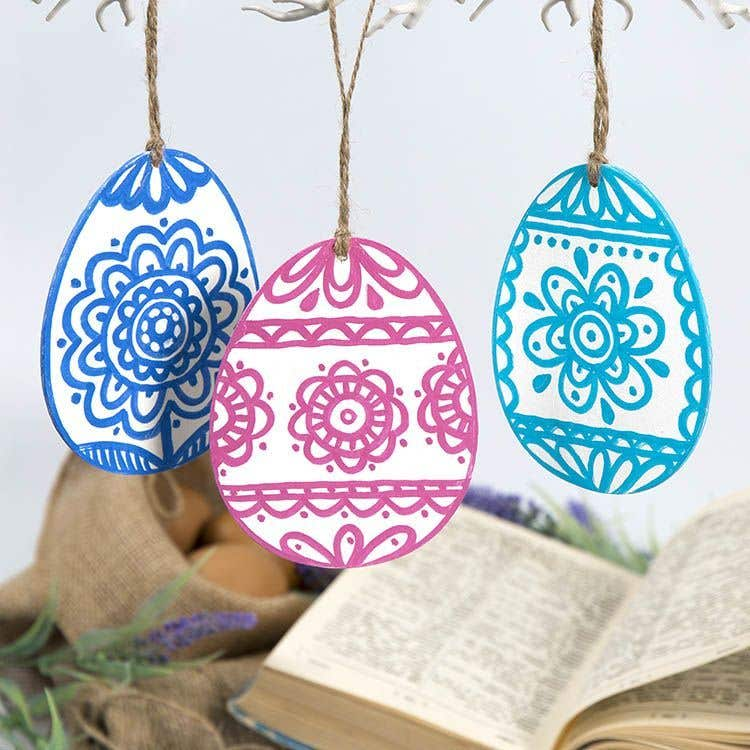 Scandi Style Easter Eggs Free Craft Ideas Baker Ross