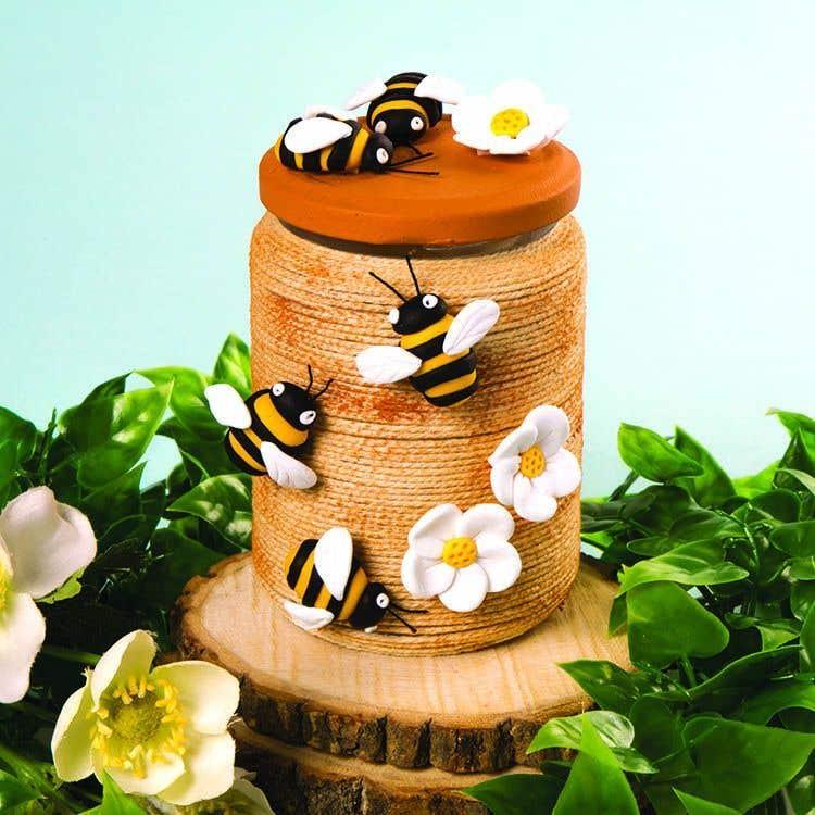 Honey Bee Jar Free Craft Ideas Baker Ross