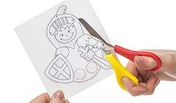 0783d38434a2 St George & Dragon Finger Puppets | Free Craft Ideas | Baker Ross