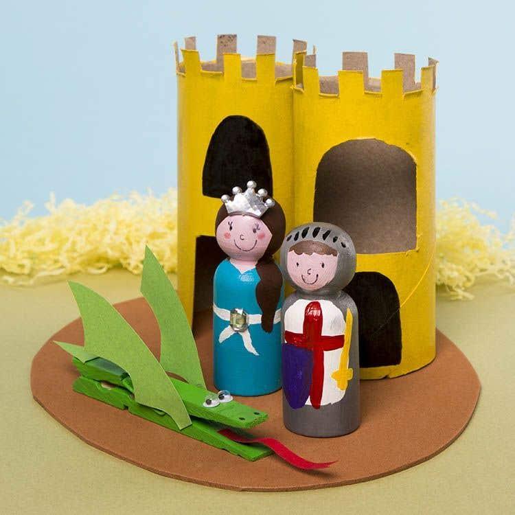 Medieval Castle Model | Free Craft Ideas | Baker Ross