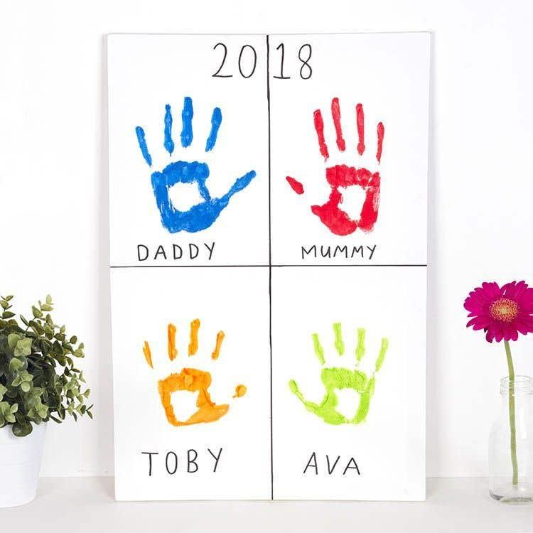 Family Handprints Free Craft Ideas Baker Ross