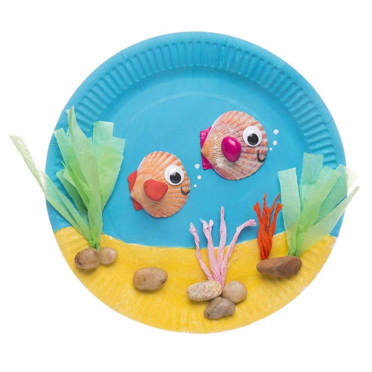 Paper Plate Aquarium | Free Craft Ideas | Baker Ross