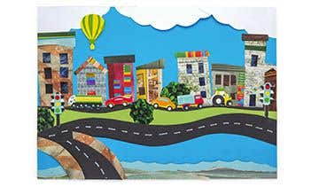 City Collage | Free Craft Ideas | Baker Ross