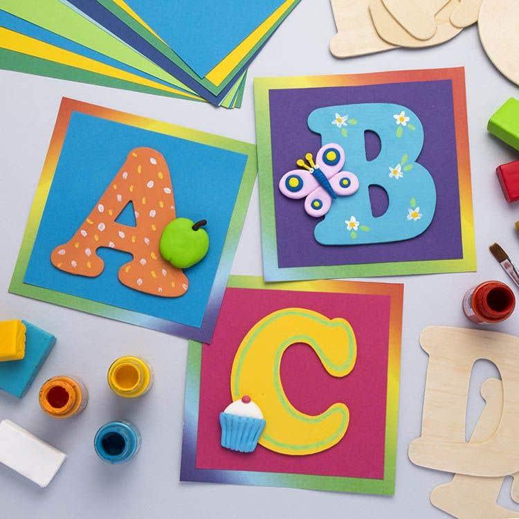 Alphabet Frieze Free Craft Ideas Baker Ross