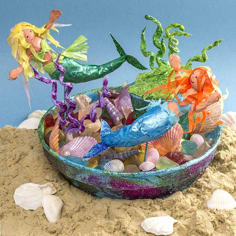 mermaid craft ideas creative station free craft ideas baker ross 2408