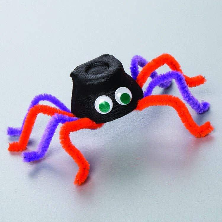 Creepy Crawly Spider Free Craft Ideas Baker Ross