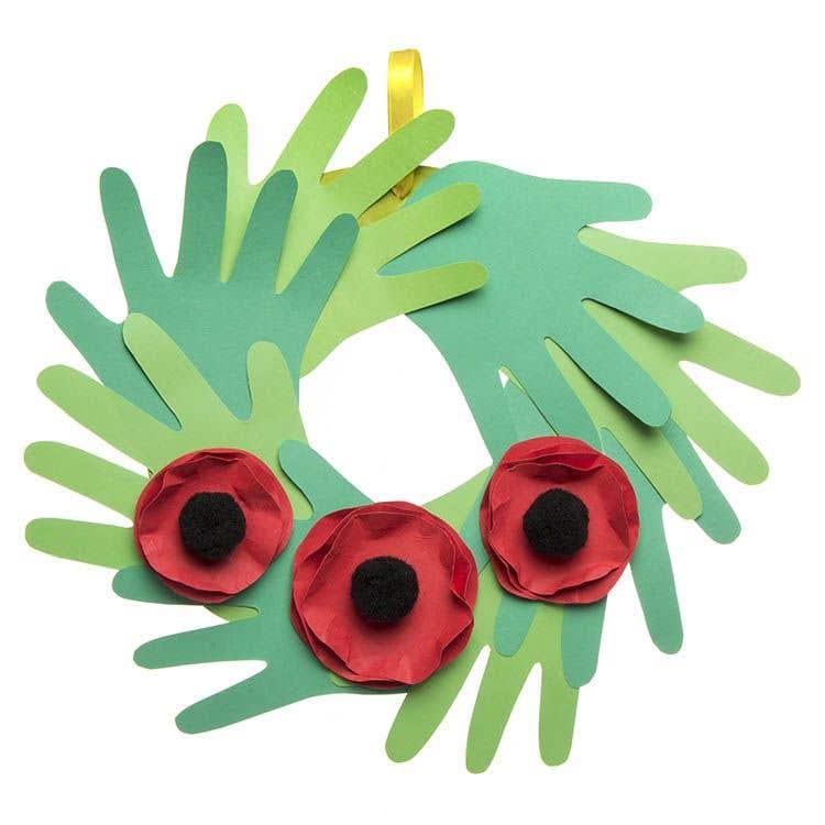 Free Kids Poppy Craft Ideas Baker Ross Creative Station
