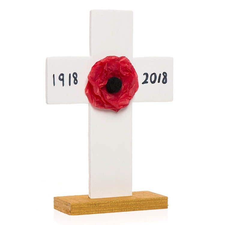 Remembrance Day Cross Free Craft Ideas Baker Ross