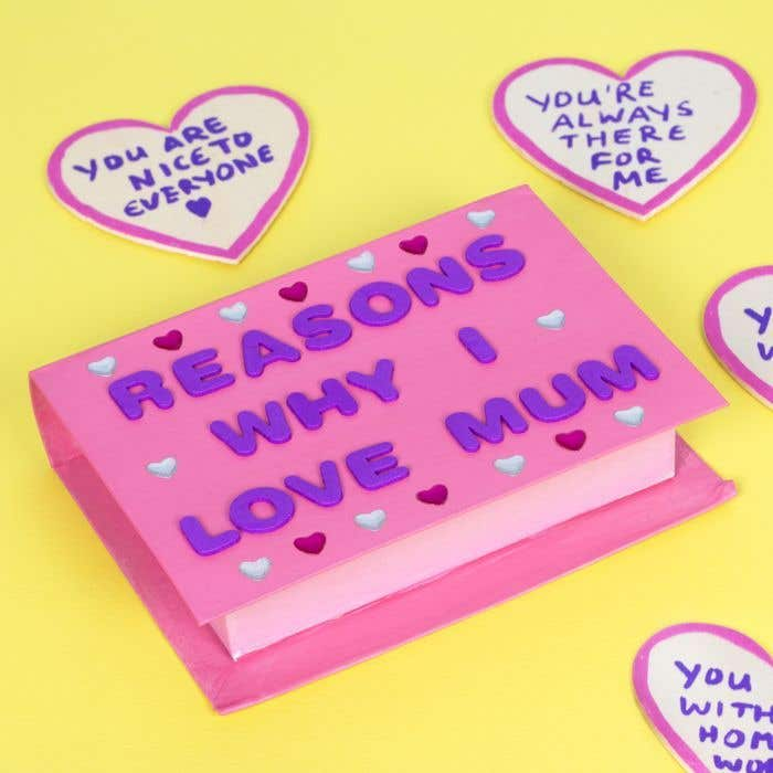 Why I Love Mum Keepsake Box Free Craft Ideas Baker Ross