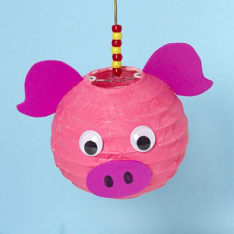 Lucky Pig Lantern | Free Craft Ideas | Baker Ross