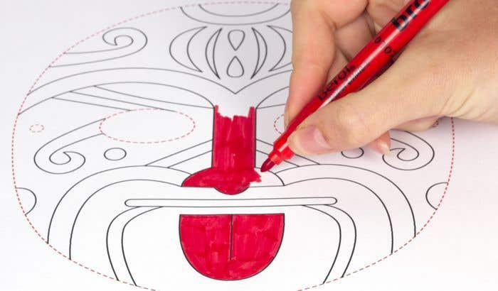 Maori Tattoo Mask Free Craft Ideas Baker Ross