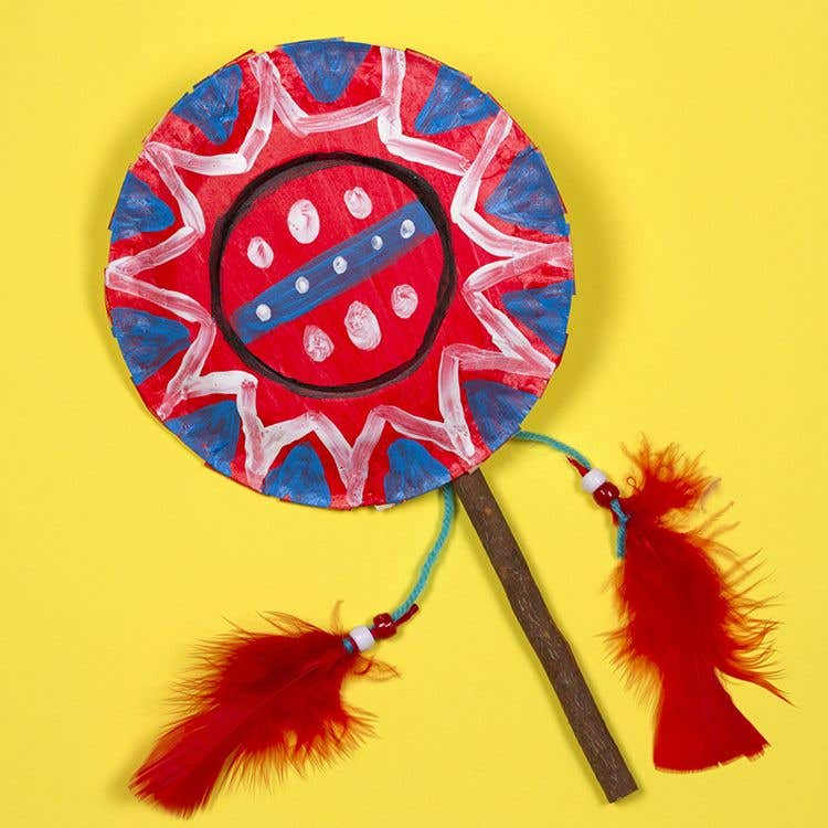 Native American Rattle Free Craft Ideas Baker Ross