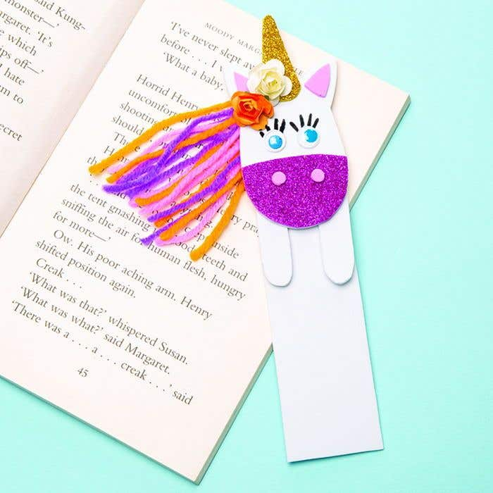 Unicorn Bookmark | Free Craft Ideas | Baker Ross