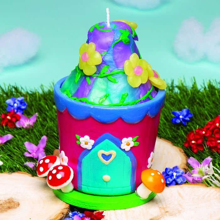Fairy House Candle Free Craft Ideas Baker Ross