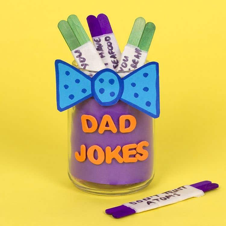 Dad Jokes Jar   Free Craft Ideas   Baker Ross