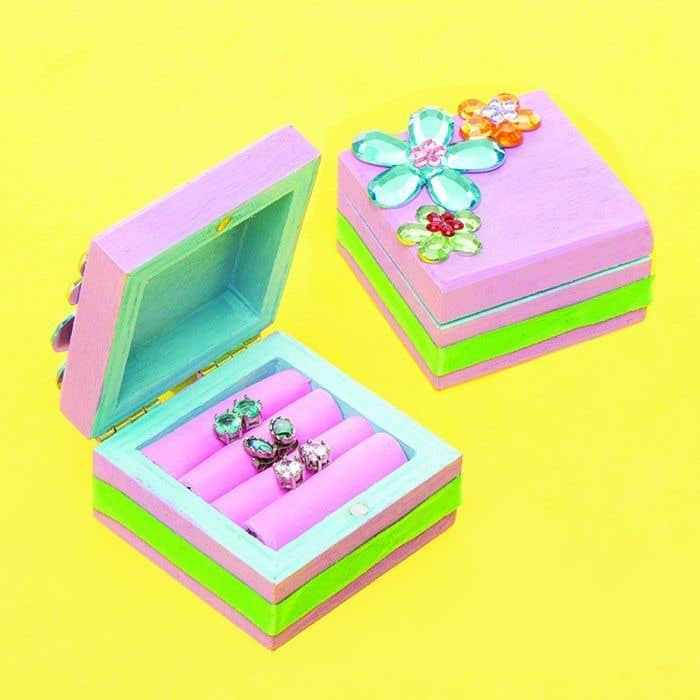 Travel Earring Box