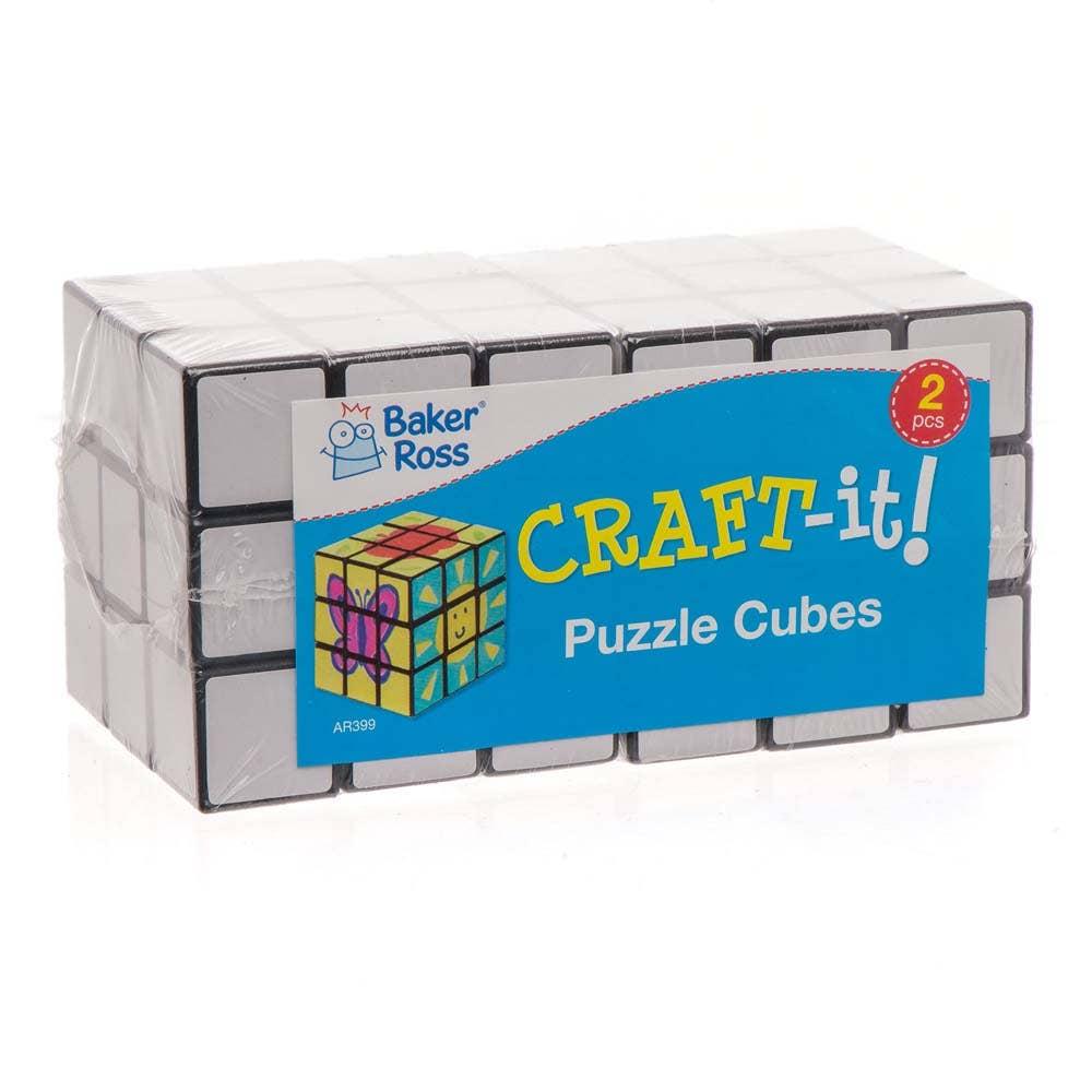 Colour-in Puzzle Cubes - Baker Ross