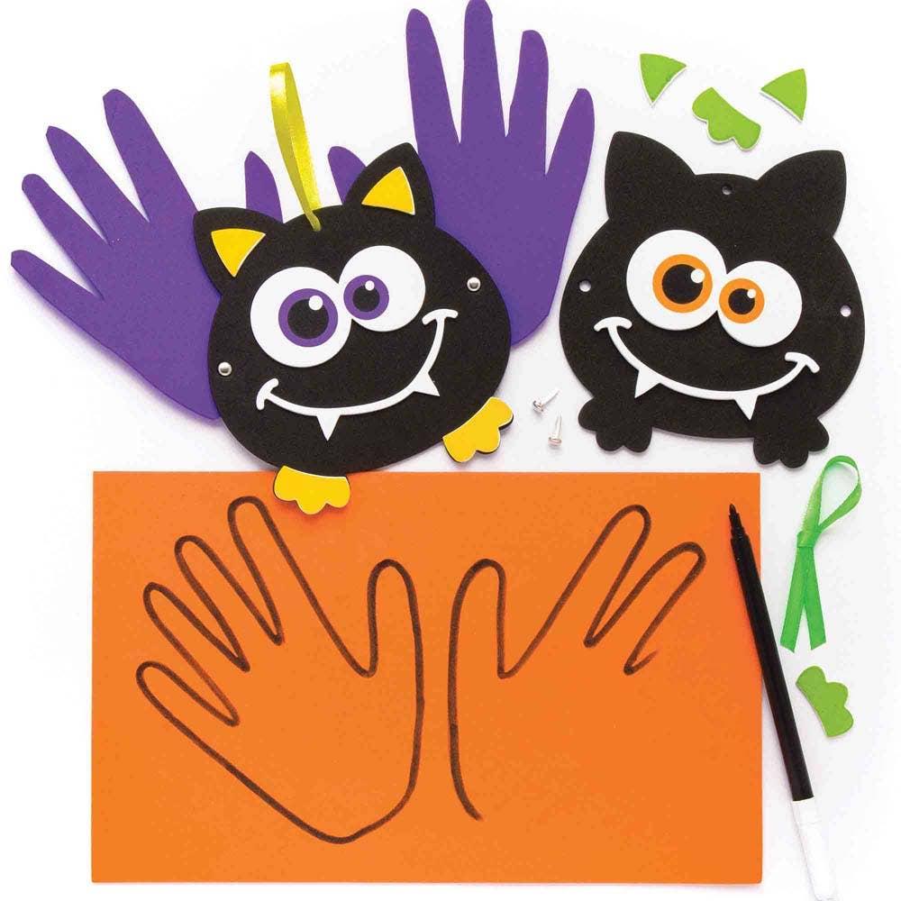 Bat Handprint Decoration Kits Baker Ross