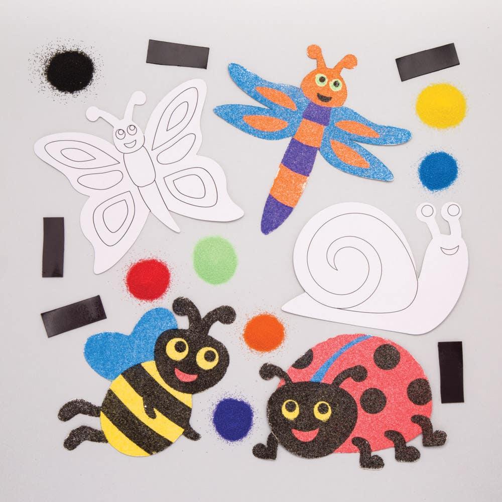 08f3b739597c Bug Sand Art Magnets - Baker Ross