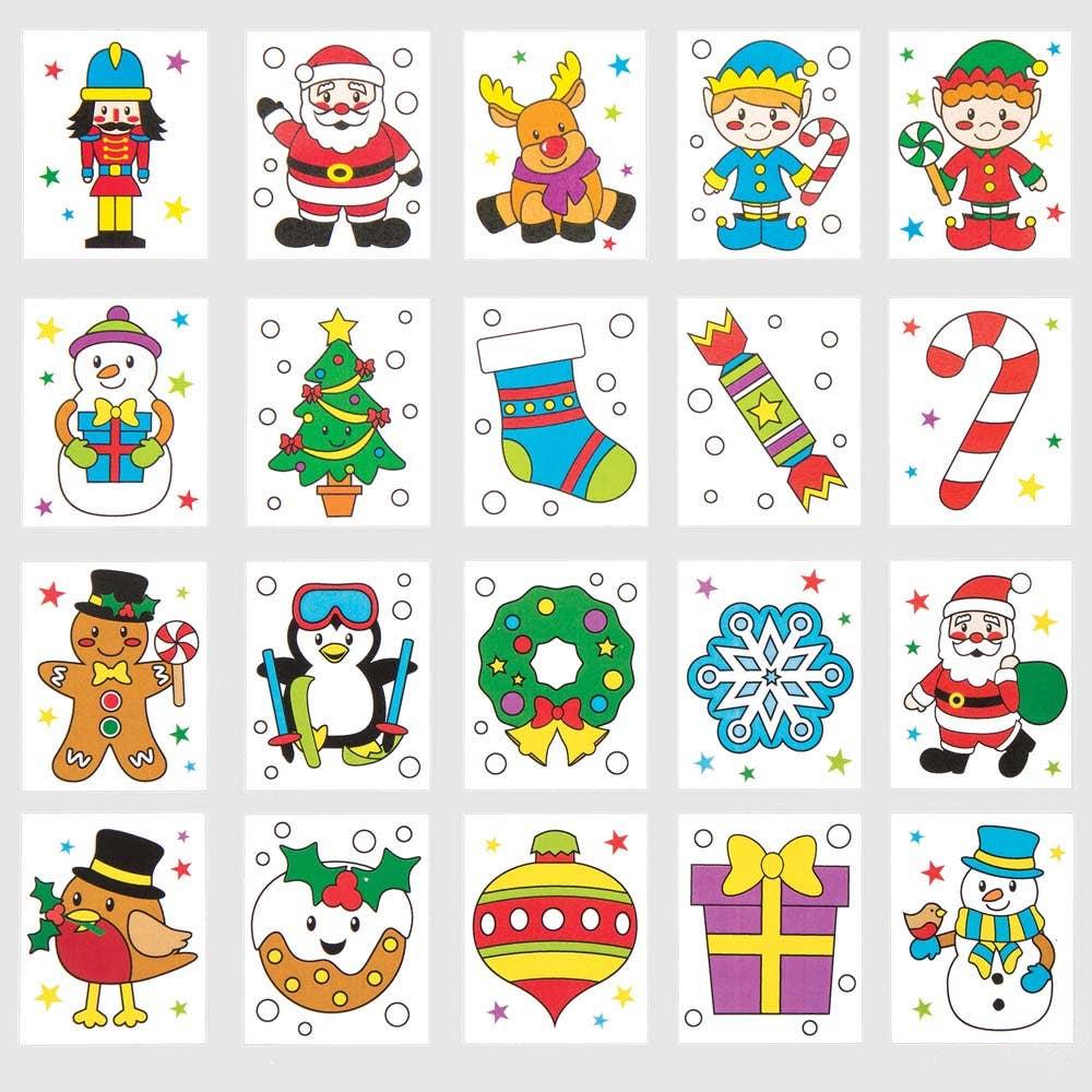 35926c2edc62 Christmas Tattoos - Baker Ross