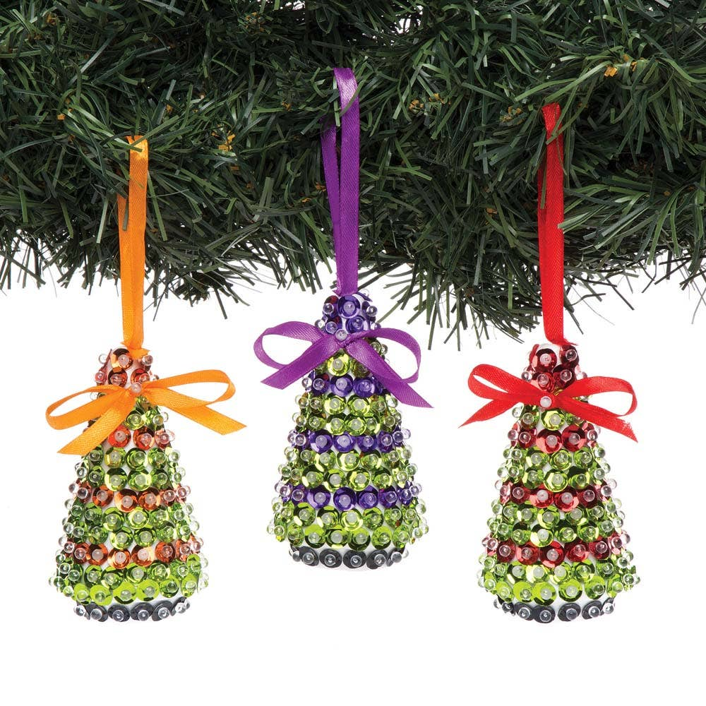 christmas tree sequin decoration kits baker ross