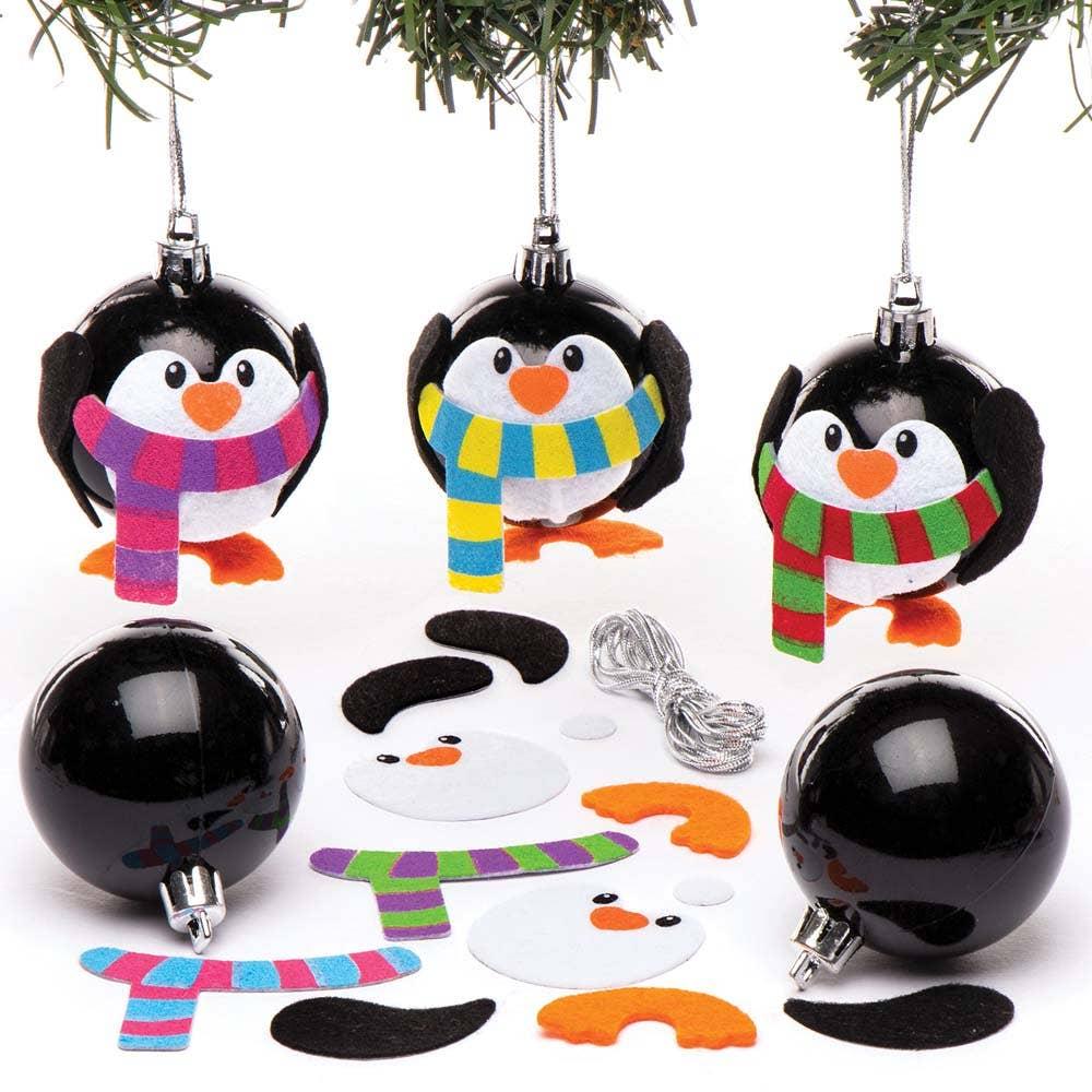 Penguin Bauble Kits - Baker Ross