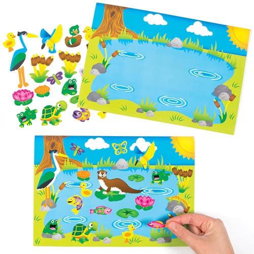 Pond Pals Sticker...